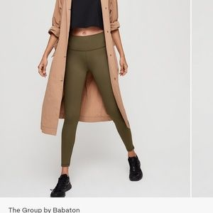 Aritzia mala legging by the group babaton